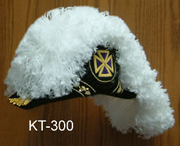 Knight Templar Chapeau - Flat Body