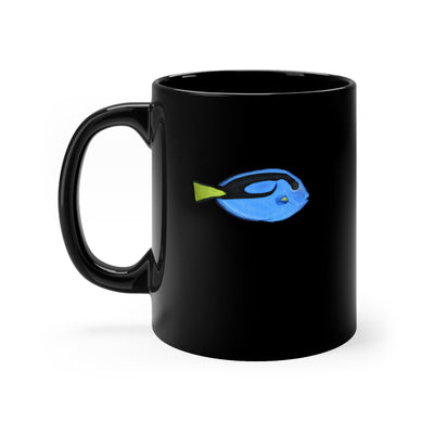 Blue Tang Black mug 11oz