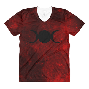 Bloodmoon Witch (Bloodwizard) - Women's Tee