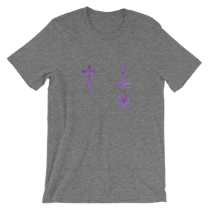 Purple Crosses - Unisex Tee