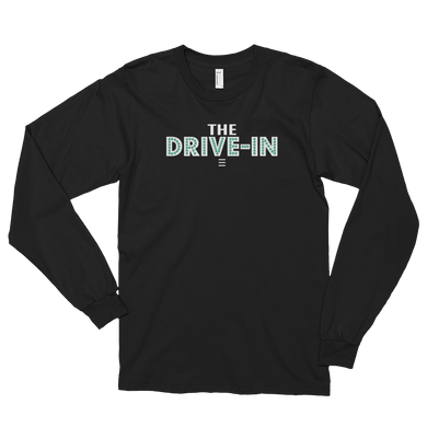 The Drive-In Podcast Logo - Long Sleeve Tee