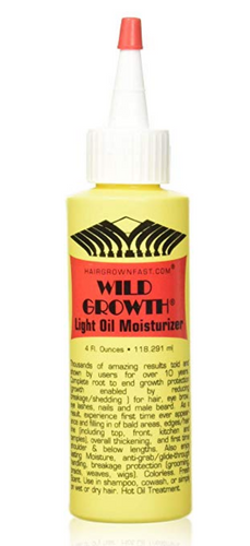 Wild Growth Hair Oil Light Moisturizer