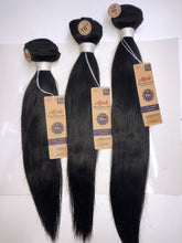 Load image into Gallery viewer, 7A Brazilian Unprocessed Virgin Hair (Straight) 3pc