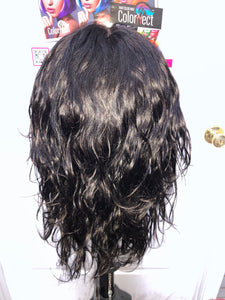 (Tuesday) Human Hair 360 Lace Wig by Hair Topic