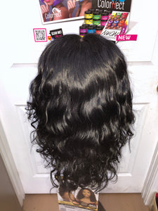 (Wednesday) Human Hair 360 Lace Wigs by Hair Topic