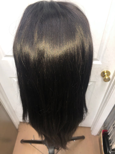 Full Lace Human Hair wig 24 inch (straight)