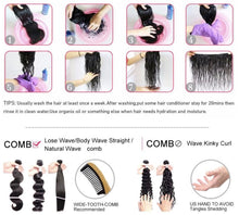 Load image into Gallery viewer, 7A Brazilian Unprocessed Virgin Hair (Body Wave) 3pc