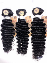 Load image into Gallery viewer, 7A Brazilian Unprocessed Virgin Hair (Pineapple Wave) 3pc