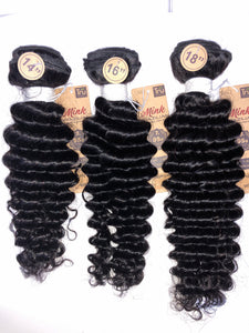 7A Brazilian Unprocessed Virgin Hair (Pineapple Wave) 3pc