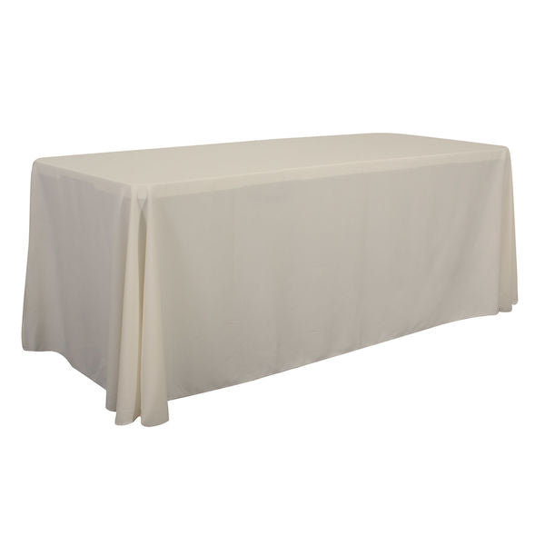 6' Economy Table Throw (Unimprinted, Clearance Colors)