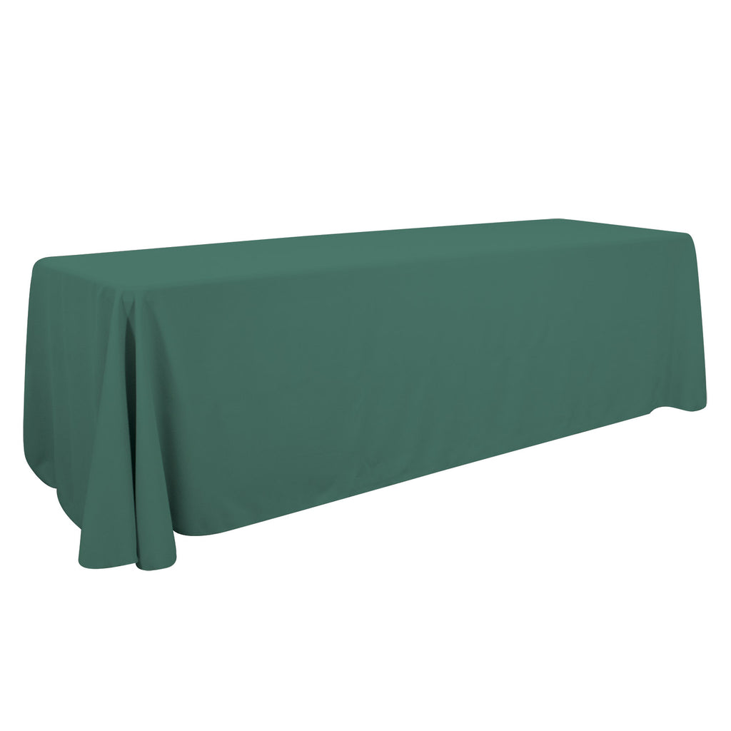 8' Economy Table Throw (Unimprinted, Clearance Colors)
