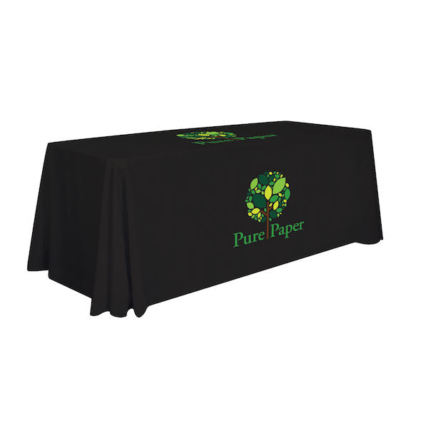 6' Standard Table Throw (2 Imprint Locations)