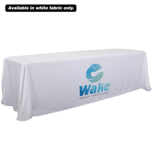 6'/8' Convertible Table Throw (Dye Sublimation, Front Only)