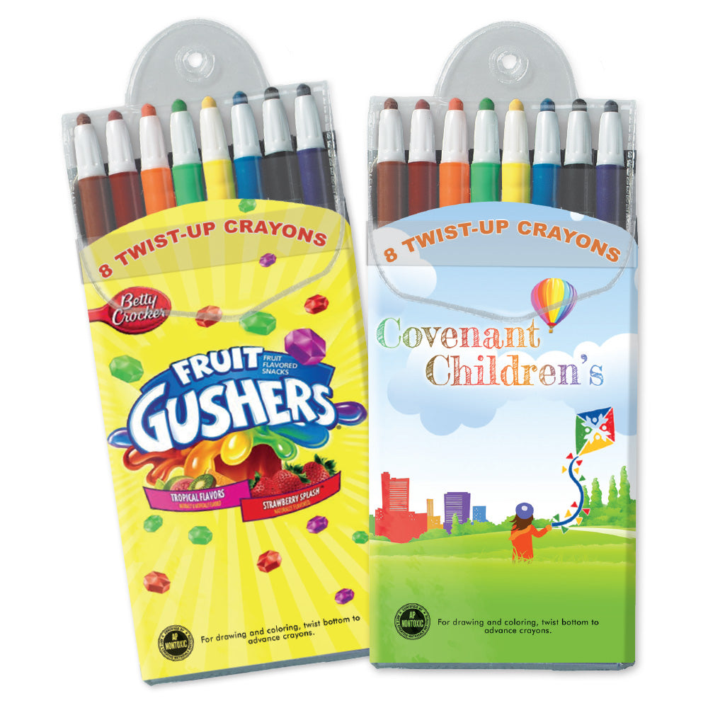 SimpliColor Twist Crayons-Front Insert Only