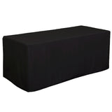 6' Decobrite™ Three-Sided Table Cover (Unimprinted)
