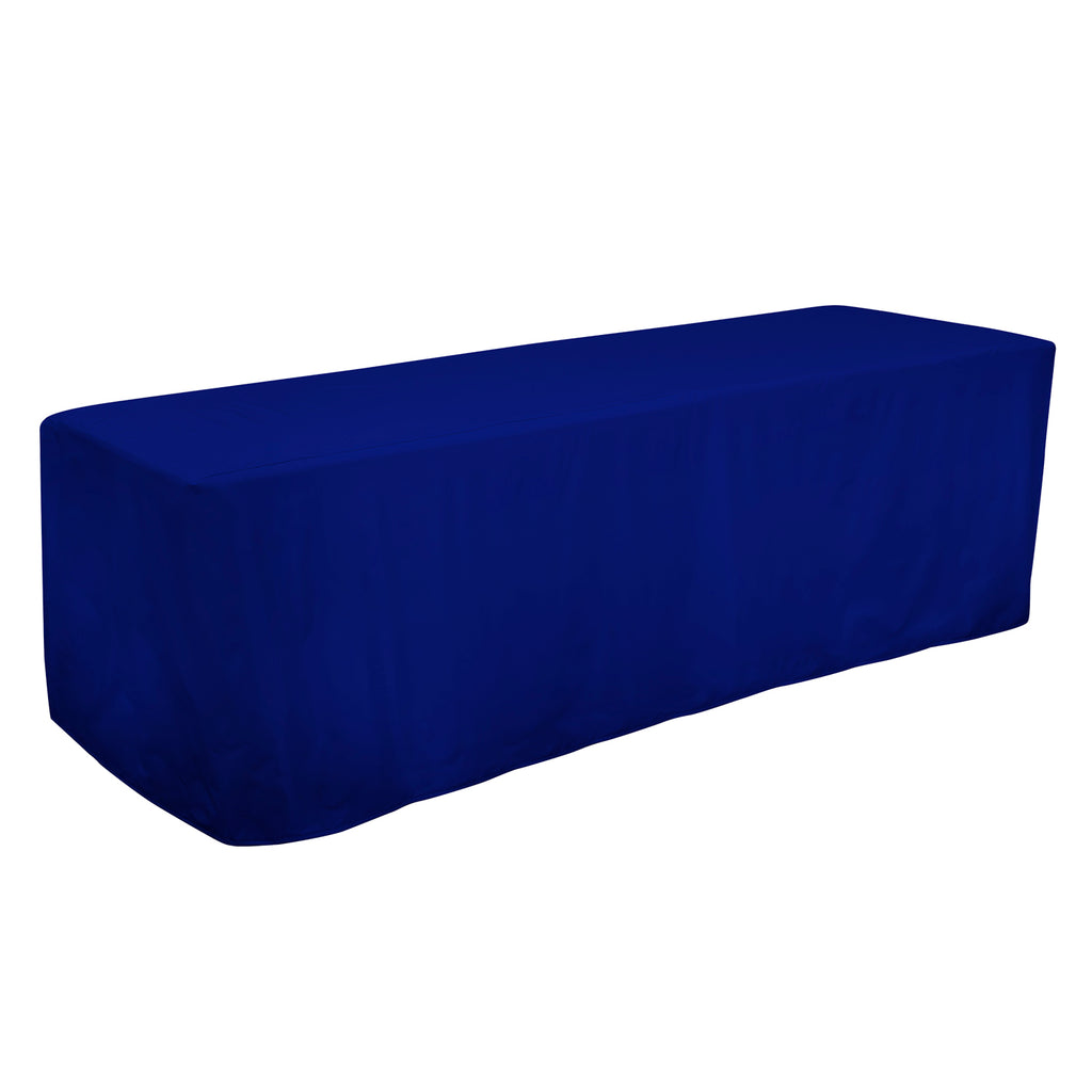 8' Decobrite™ Three-Sided Table Cover (Unimprinted)
