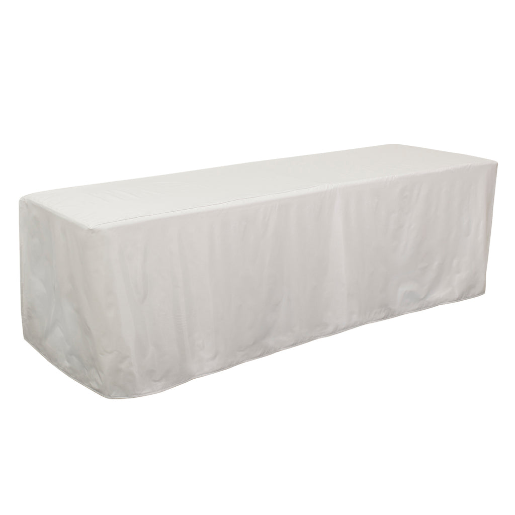 8' Decobrite™ Four-Sided Table Cover (Unimprinted)