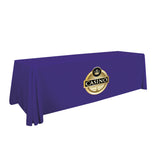 24-Hour Quick Ship 8' Standard Table Throw (Full-Color Imprint, One Location)