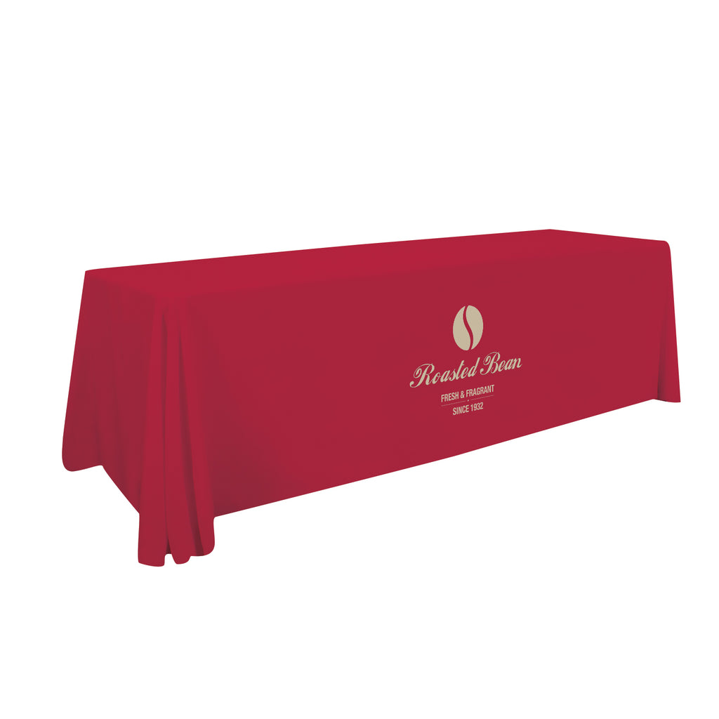8' Stain-Resistant 3-Sided Throw (One Imprint Location)