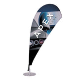 Micro Teardrop Sail Sign Kit (Single-Sided)
