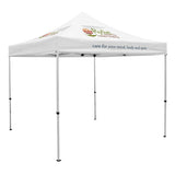 Premium 10' Tent, Vented Canopy (Imprinted, 3 Locations)