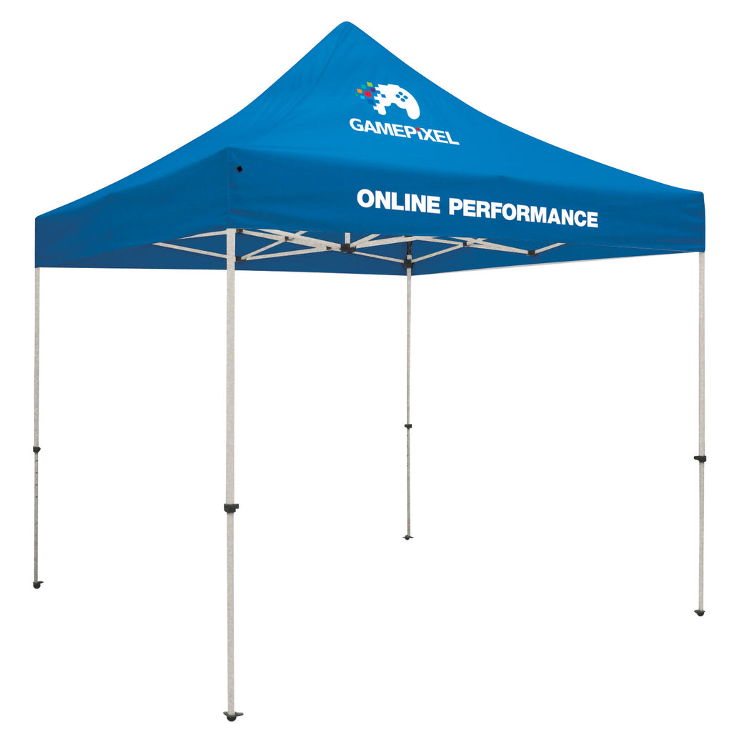 Standard 10' Tent Kit (Full-Color Imprint, 2 Locations)