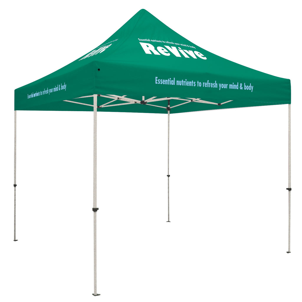 Standard 10' Tent Kit (Full-Color Imprint, 4 Locations)