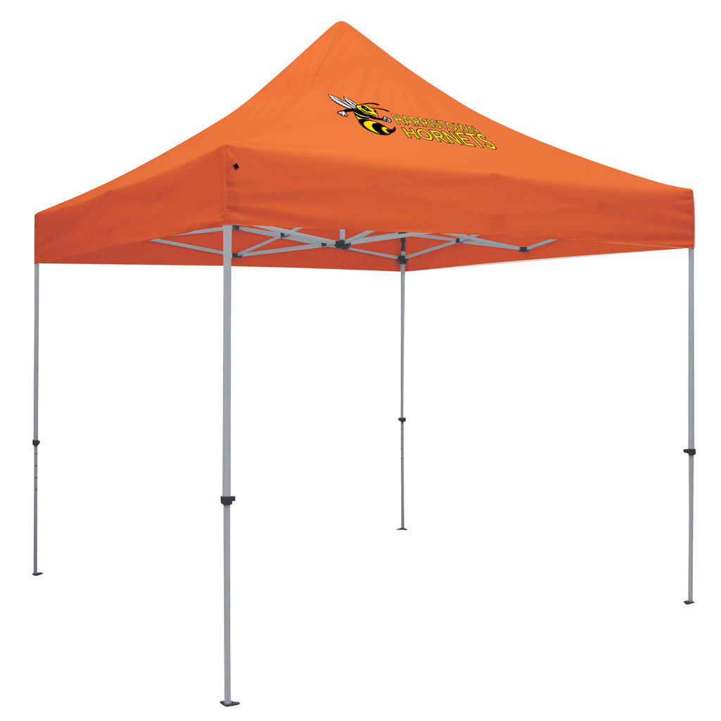 Deluxe 10' Tent Kit (Full-Color Imprint, 1 Location)