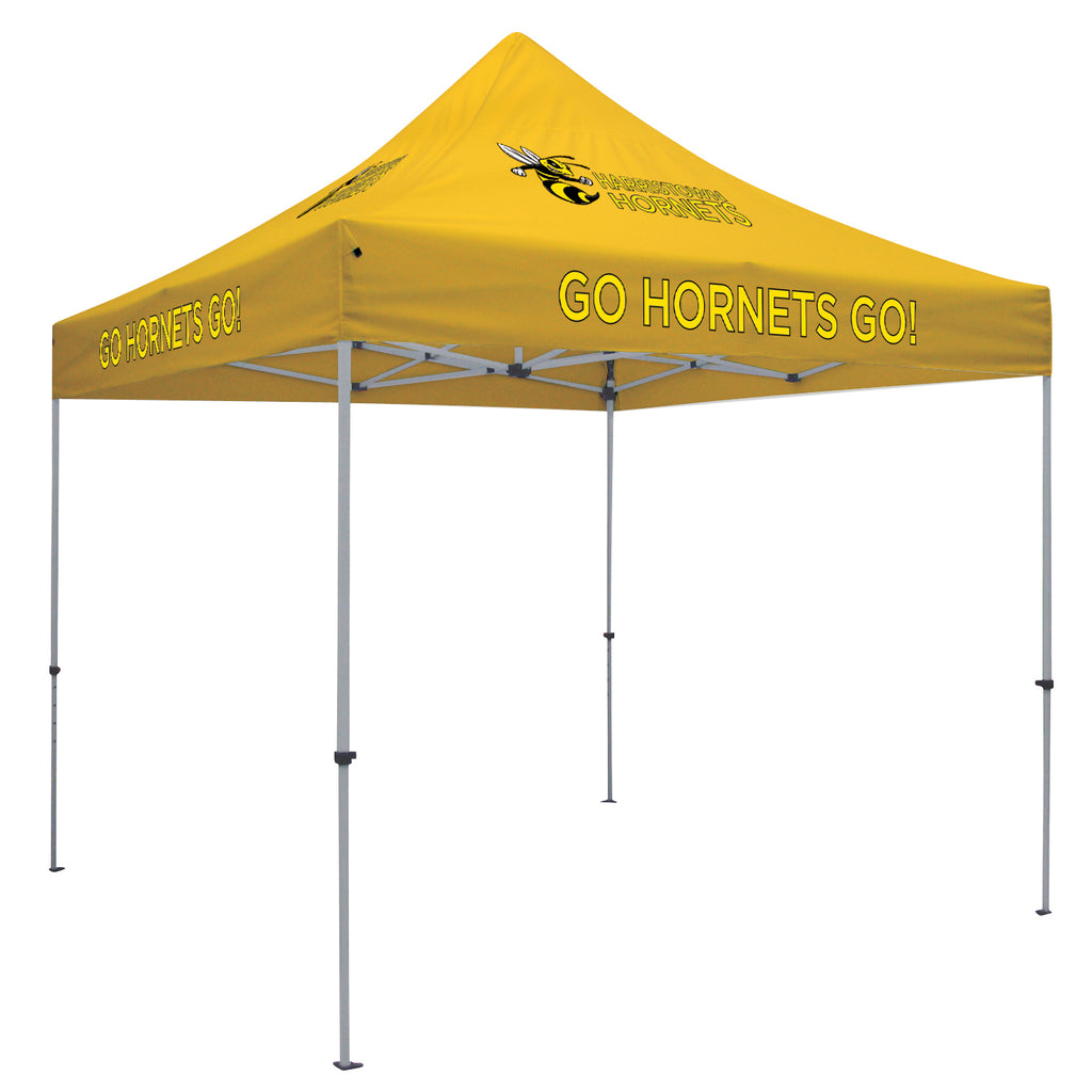 Deluxe 10' Tent Kit (Full-Color Imprint, 6 Locations)