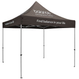 Premium Aluminum 10' Tent Kit (Imprinted, 4 Locations)