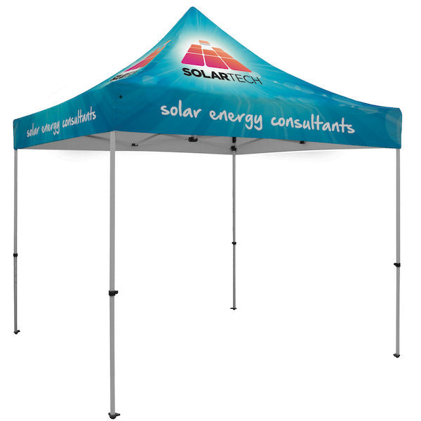Premium Aluminum 10' Tent Kit (Dye-Sublimation)