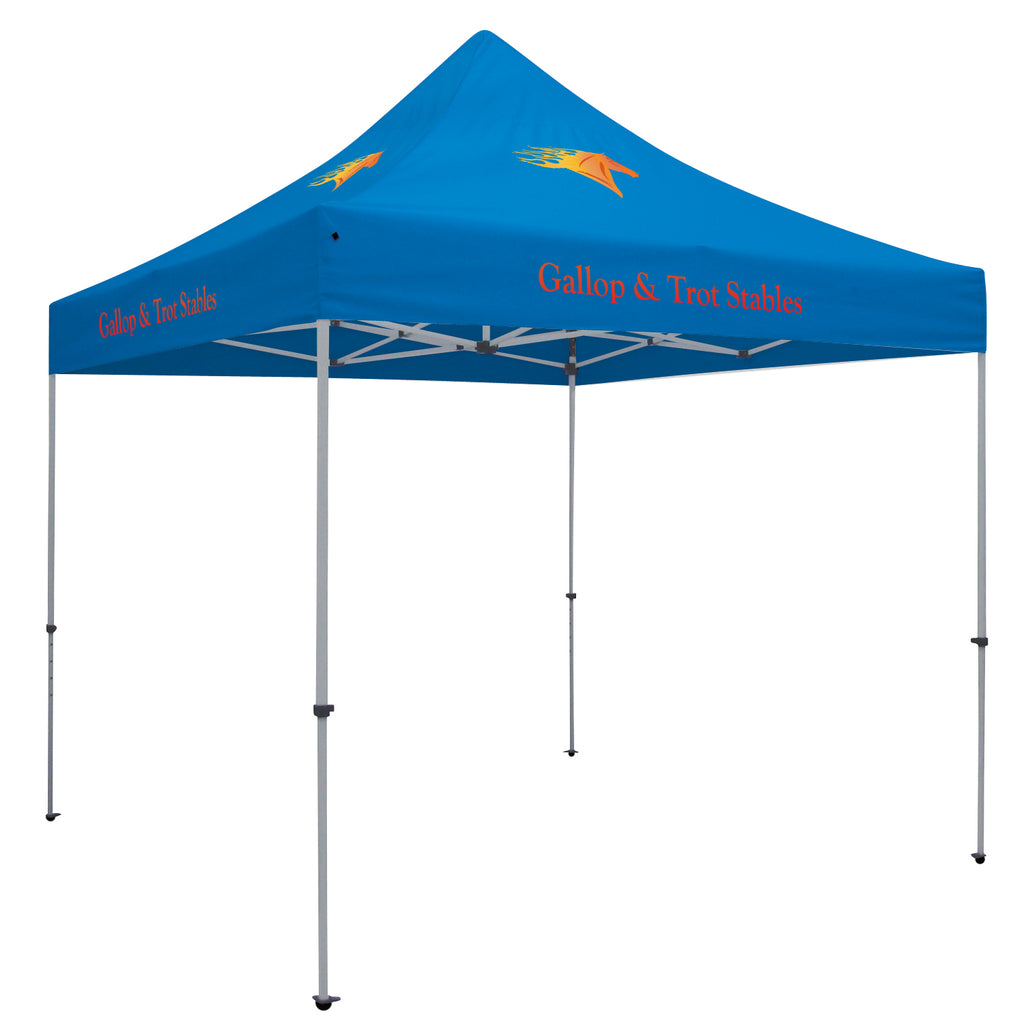 24-Hour Quick Ship Standard 10' Tent (Full-Color Imprint, Four Locations)