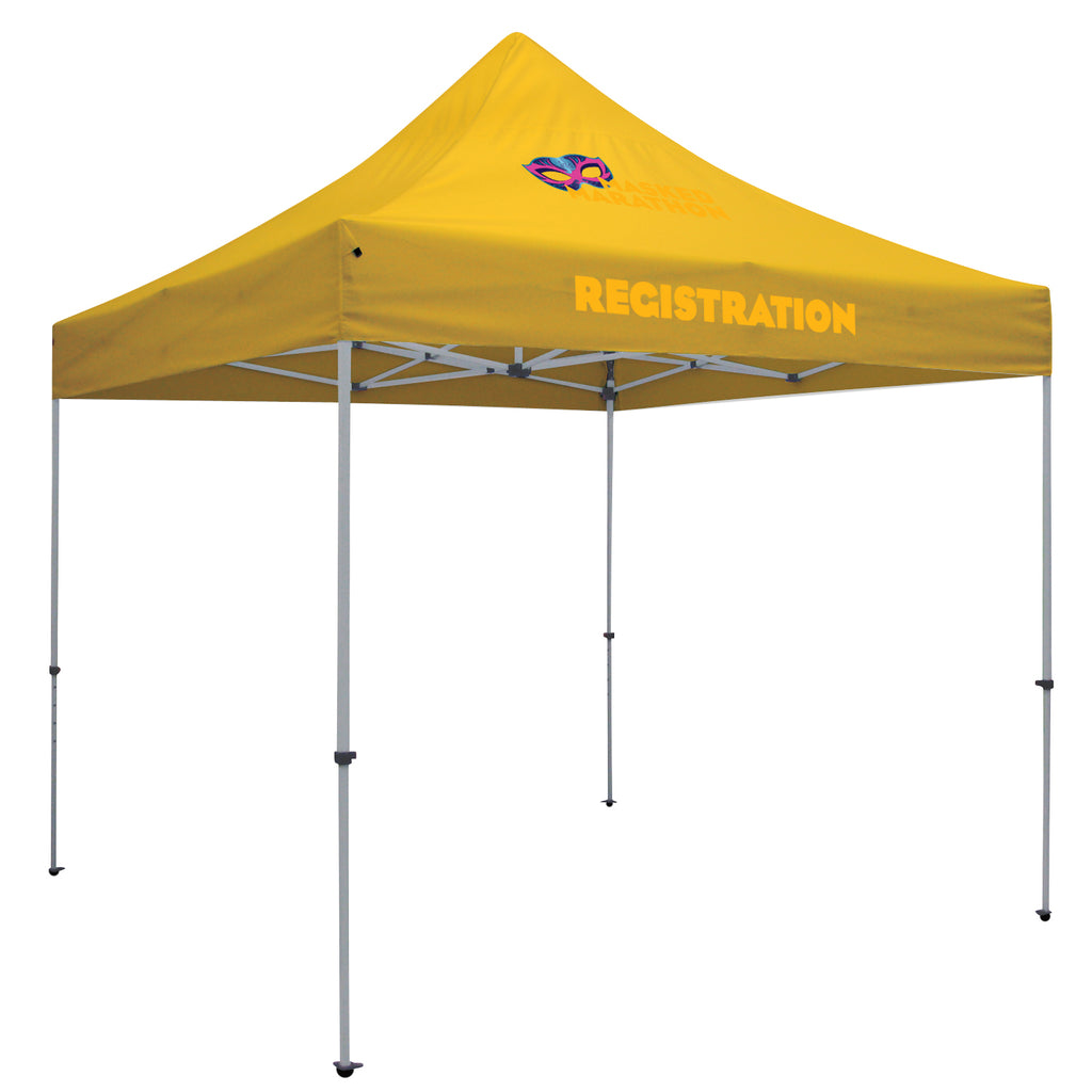 24-Hour Quick Ship Deluxe 10' Tent (Full-Color Imprint, Two Locations)
