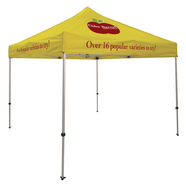 Ultimate 10' Tent Kit (Full-Color Imprint, Three Locations)