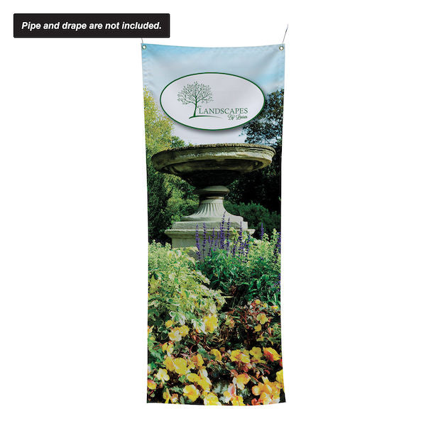 "24""W x 60""H Pipe and Drape Banner Kit"