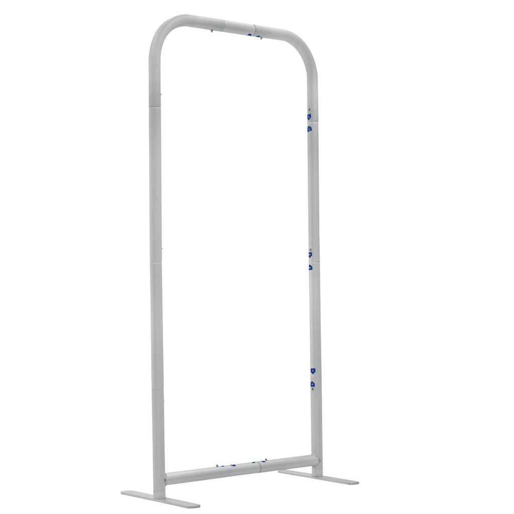 2' EuroFit Tabletop Straight Wall Hardware