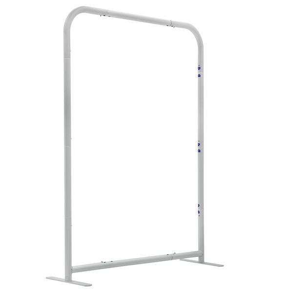 3' EuroFit Tabletop Straight Wall Hardware
