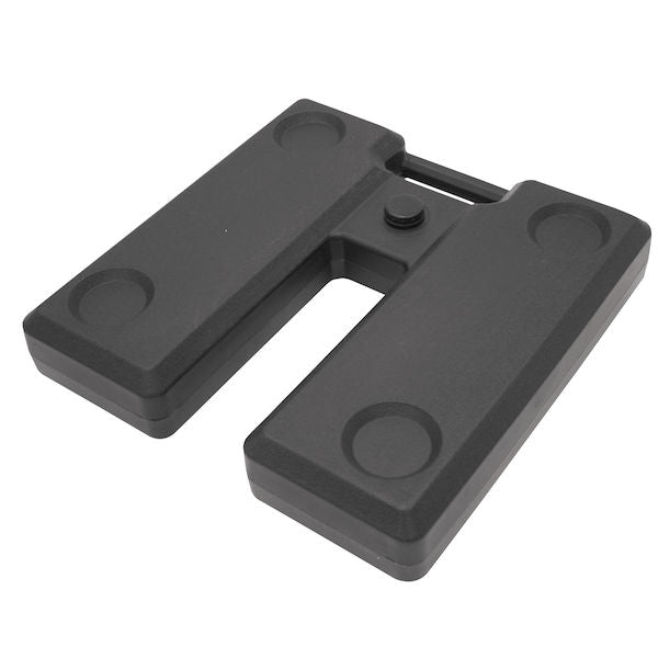 Square Plastic Ballast (Set of 2)