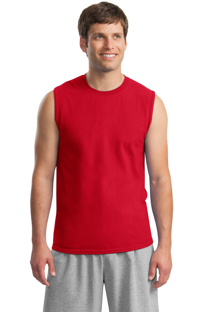 Gildan - Ultra Cotton Sleeveless T-Shirt.  2700
