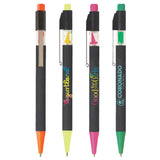 Plastic Pens Neon Click-It Pen