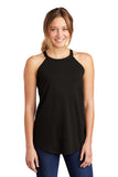 District   Women's Perfect Tri  Rocker Tank. DT137L