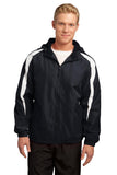 Sport-Tek Fleece-Lined Colorblock Jacket. JST81