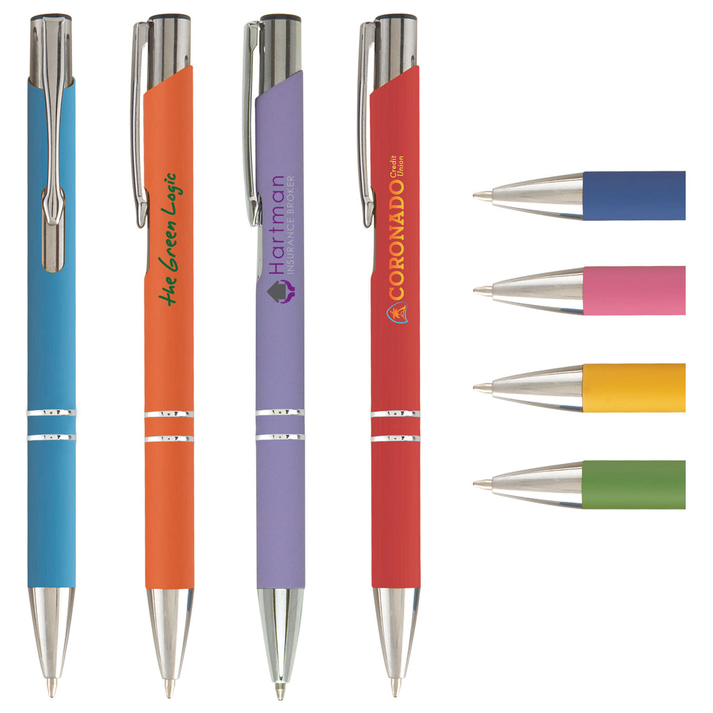 Plastic Pens Tres-Chic Softy Brights - ColorJet