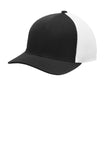 Sport-Tek  Flexfit  Air Mesh Back Cap. STC40