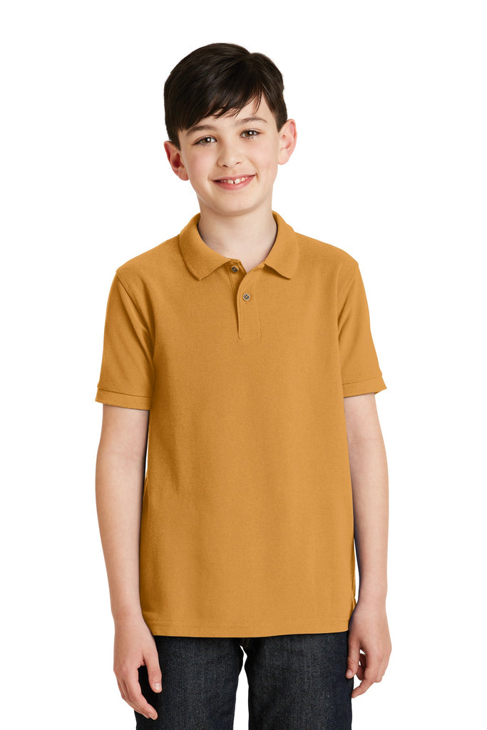 "Port Authority Youth Silk Touchâ""¢ Polo.  Y500"
