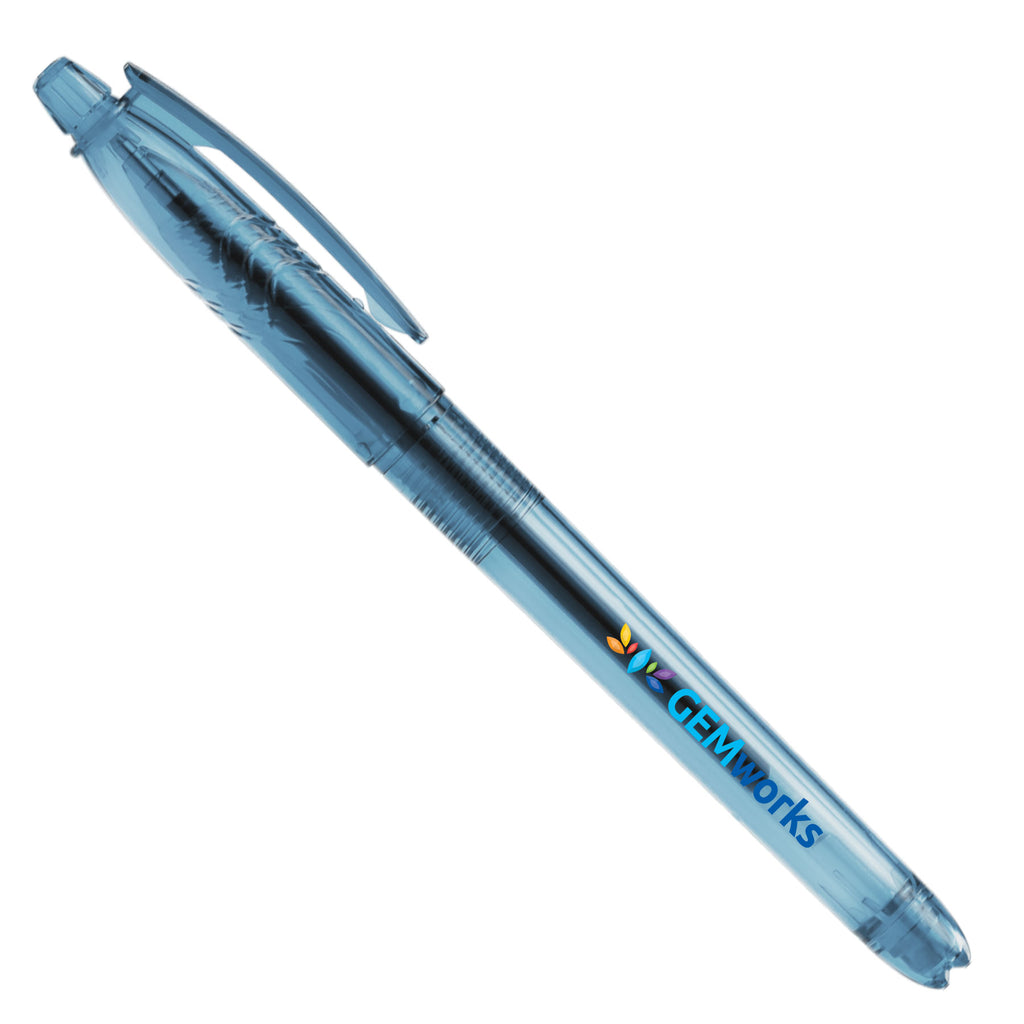 Aqua Gel - Recycled P.E.T. Plastic Pen - ColorJet