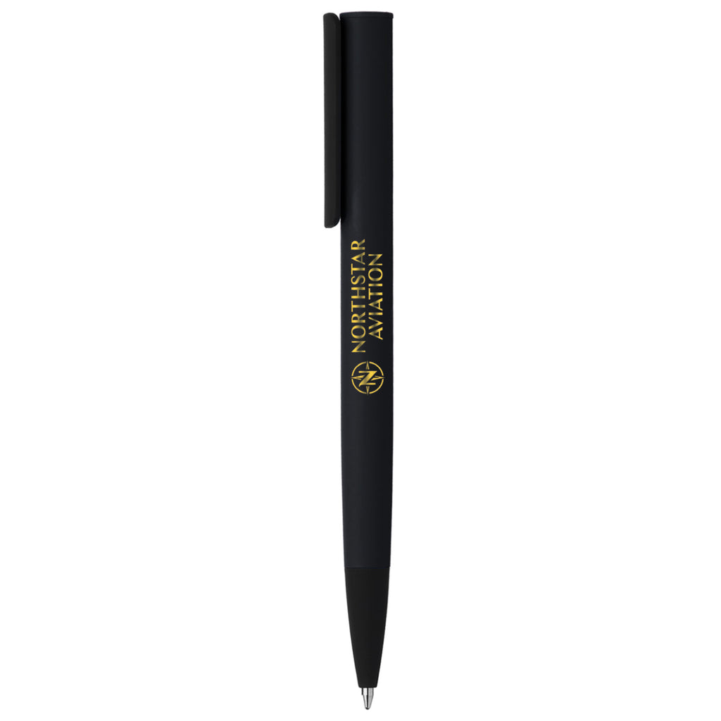 Plastic Pens Jagger Midnight Softy - Gold