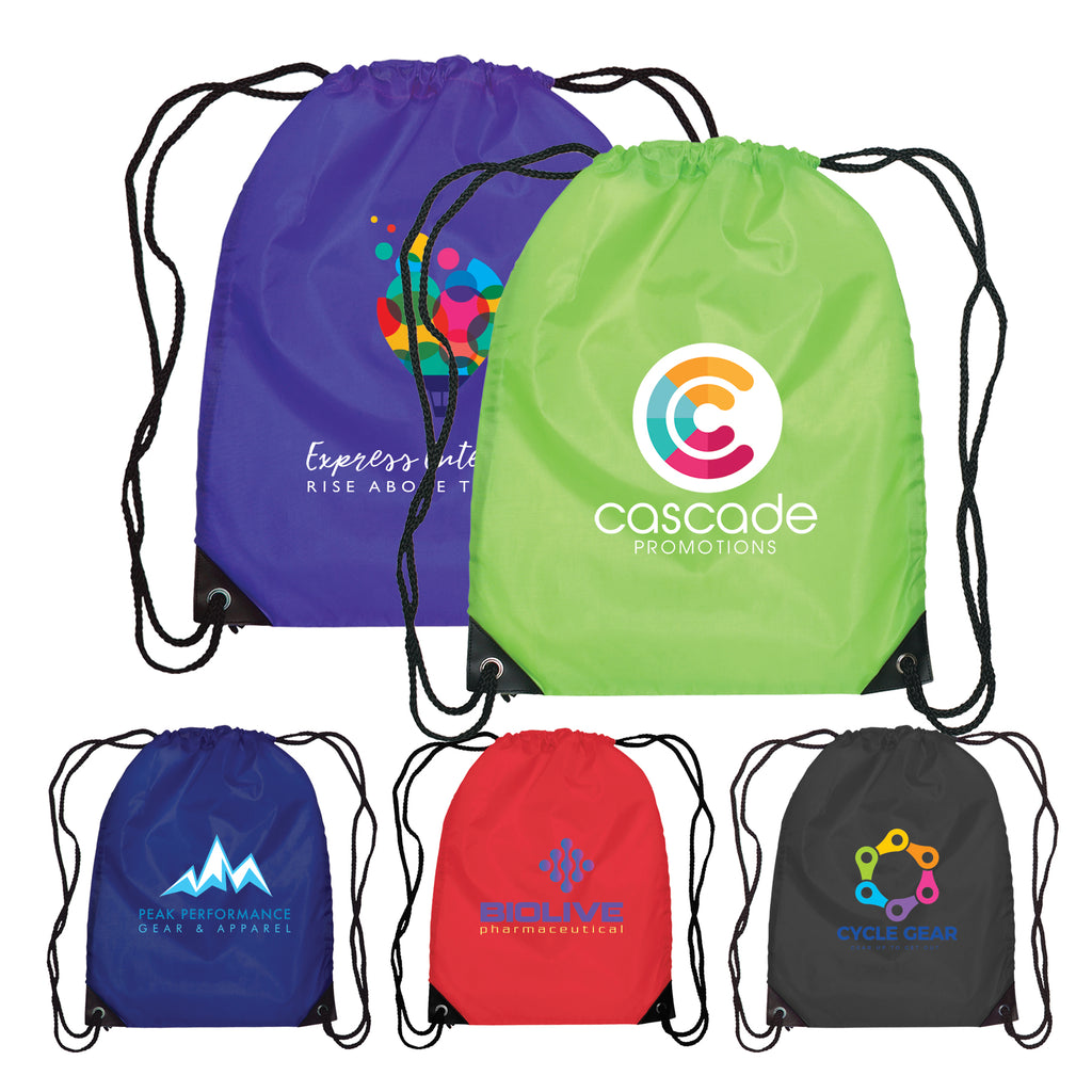 Cinche & Drawstring Bags Broadway - Drawstring Backpack - 210D Polyester - ColorJet