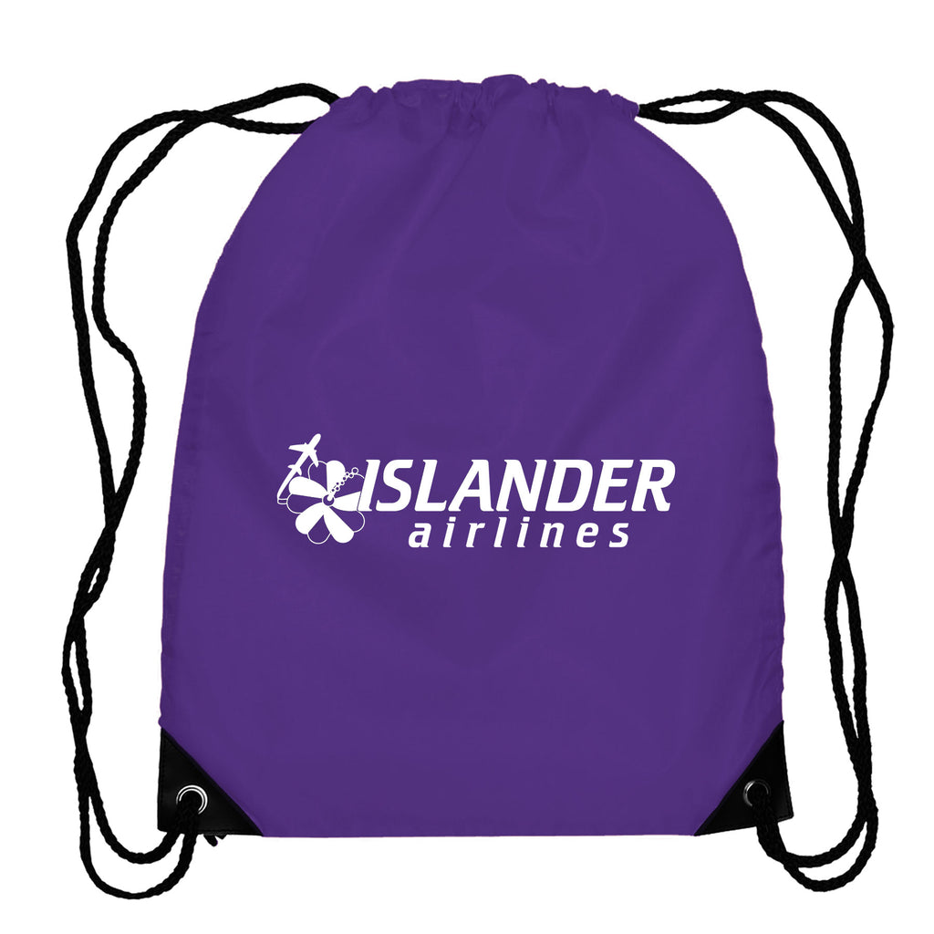 Broadway - Drawstring Backpack - 210D Polyester