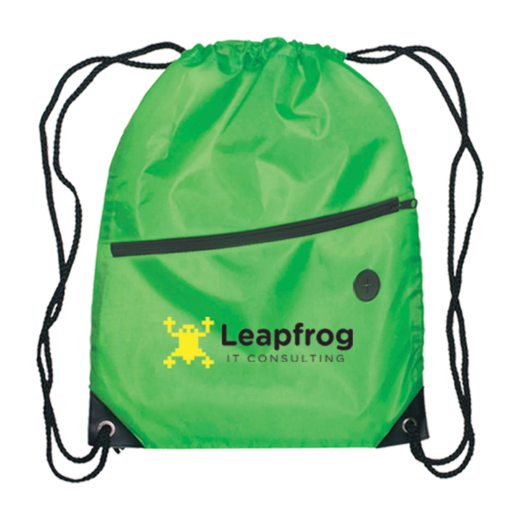 Daypack - Drawstring Backpack - 210D Polyester - ColorJet